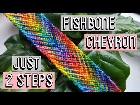 FISHBONE CHEVRON    Friendship Bracelets – YouTube