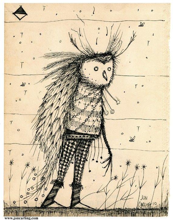 owl vagabond by joncarling