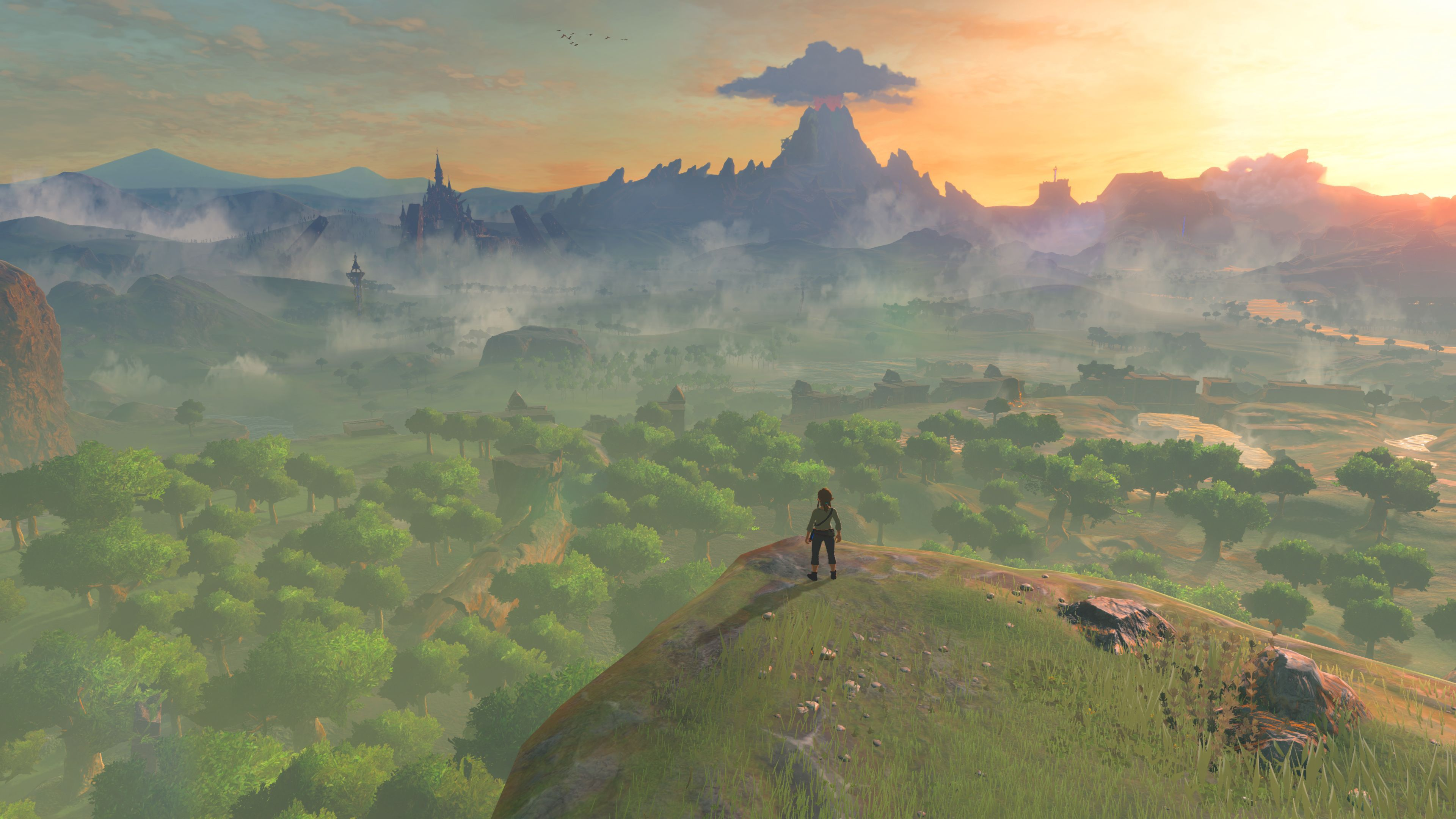 Breath Of The Wild Background Official Legend Of Zelda Breath