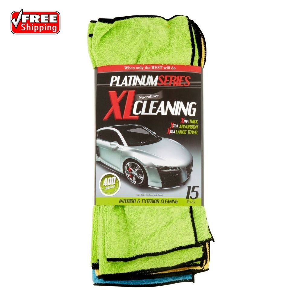 Platinum Series Microfiber XL Cleaning Interior And