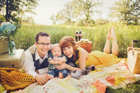 Family Picnic Family Photoshoot Stacy Kron Photography