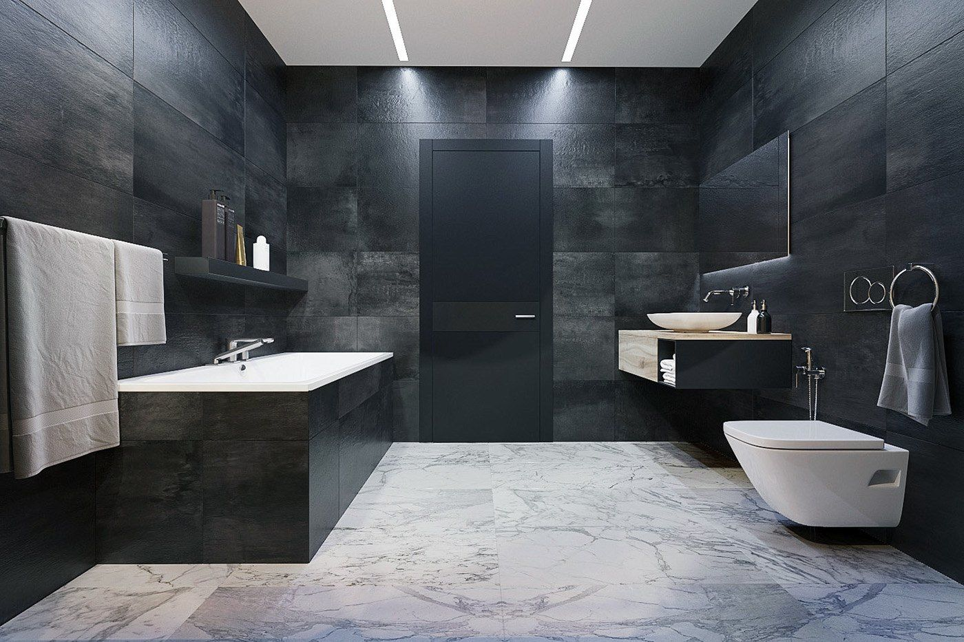 3 Kind Of Luxury Bathroom Designs Which Have Variety Of Awesome Cool Minimalist Bathroom Review