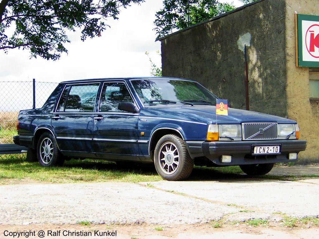Regierungsfahrzeuge Ddr 760 Gle Regierungswagen Der Fuhrungsspitze Der Ddr Fotografiert Volvo 740 Volvo Umgebaute Autos