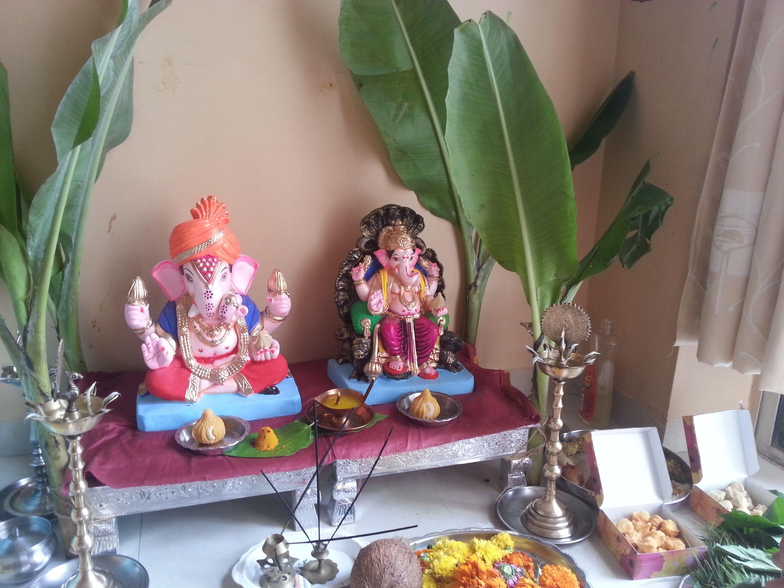 pin by maithili bade on ganapati bappa pinterest decoration