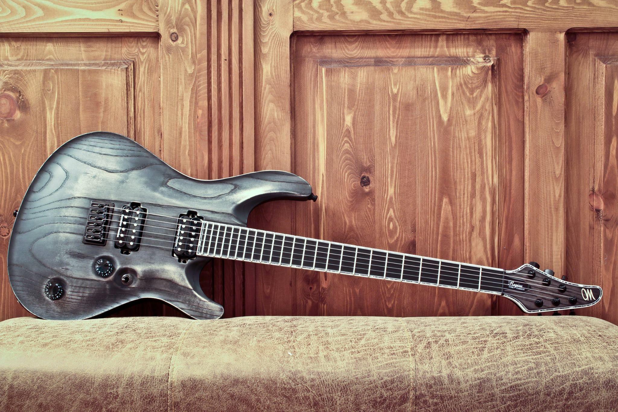 Mayones Guitars Basses Regius Core Classic 6 - Antique Black Oil ...