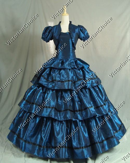 Civil War Victorian Ball Gown Dress Gone with the Wind Masquerade Ball Gown Theater Dress #masqueradeballgowns Civil War Victorian Ball Gown Dress Gone with the Wind Masquerade Ball Gown Theater Dress #masqueradeballgowns