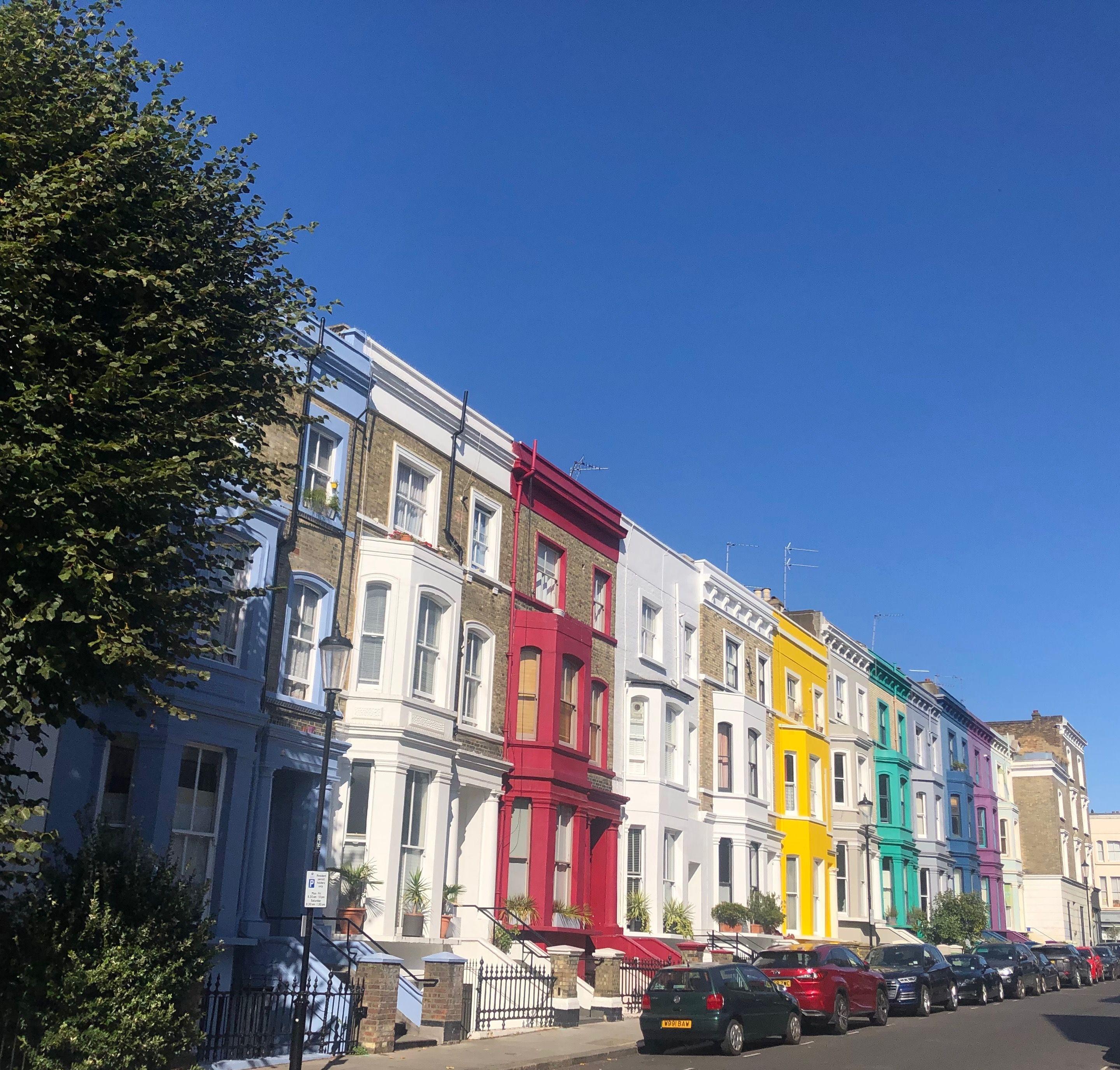 How I London London Sights London Pastel House