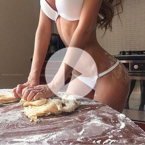 Big boobs examined nude