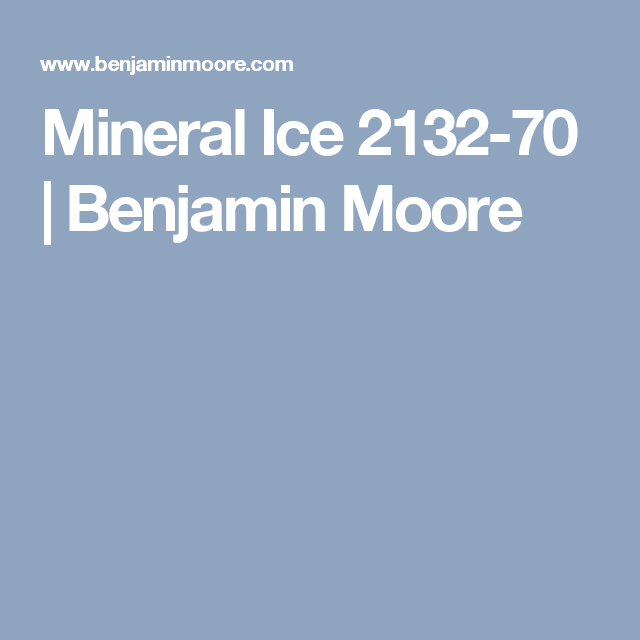 Mineral Ice 2132 70 Benjamin Moore Pink Paint Colors Cream