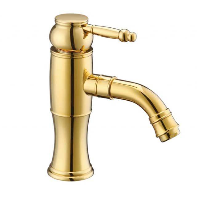Retro Gold Design Waschbecken Waschschale Waschtisch Einhebel - nostalgie armaturen küche