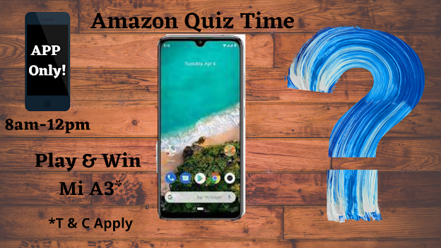 Thoughts & Updates Shelter Amazon Quiz Answers 12 July
