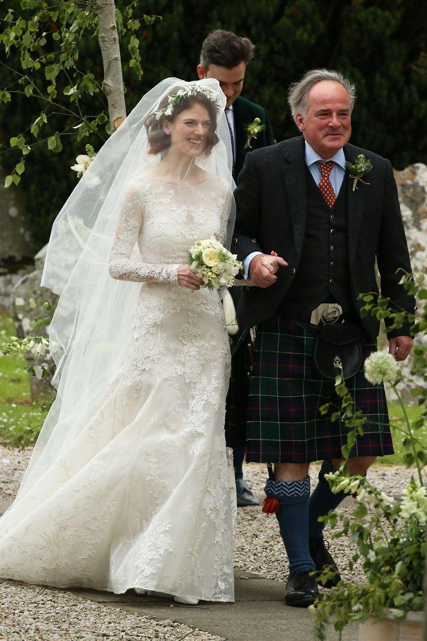 And kit wedding leslie harington rose Kit Harington