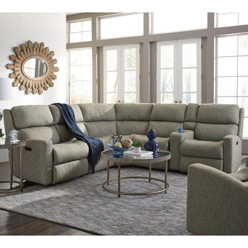 Catalina 6 Piece Power Reclining Power Headrest Sectional With Laf