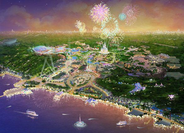 Shanghai Disney Concept Art