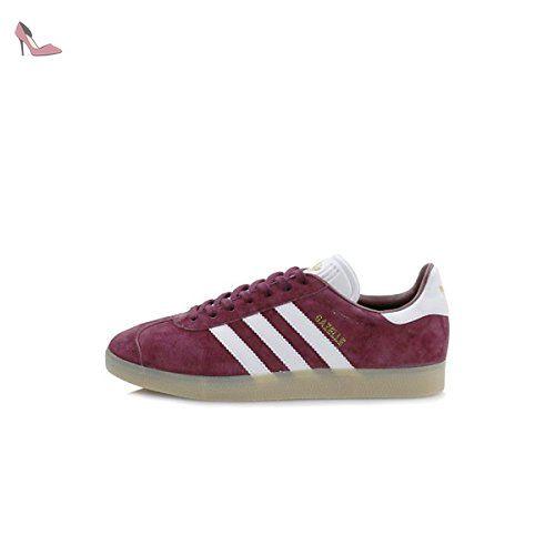 Adidas Gazelle chaussures 9,5 BordeauxBlanc Taille 44