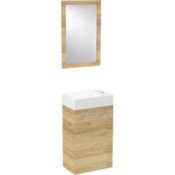 Meuble Lave Mains Avec Miroir Sensea Remix Leroy Merlin Meuble Lave Main Lave Main Lave Main Toilette