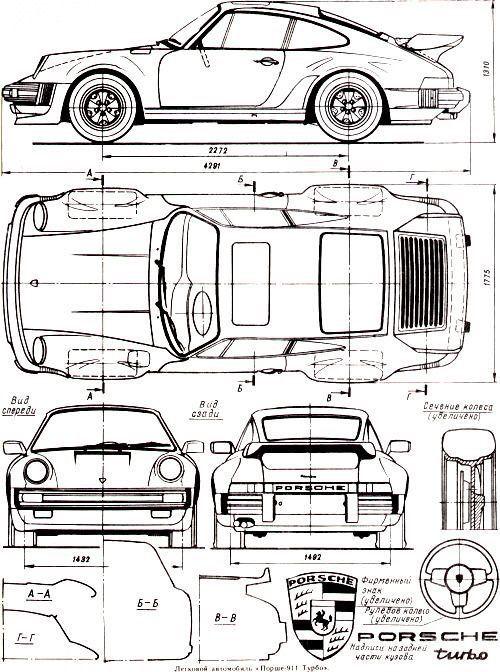 Orthographic drawing of sport car . Muhammad attariq zamel, kelompok ...