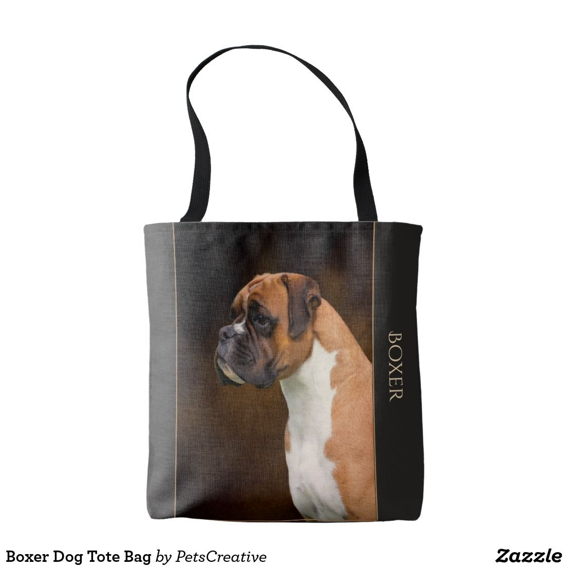 Boxer Dog Tote Bag Zazzle Com Au Dog Tote Bag Tote Bag Boxer