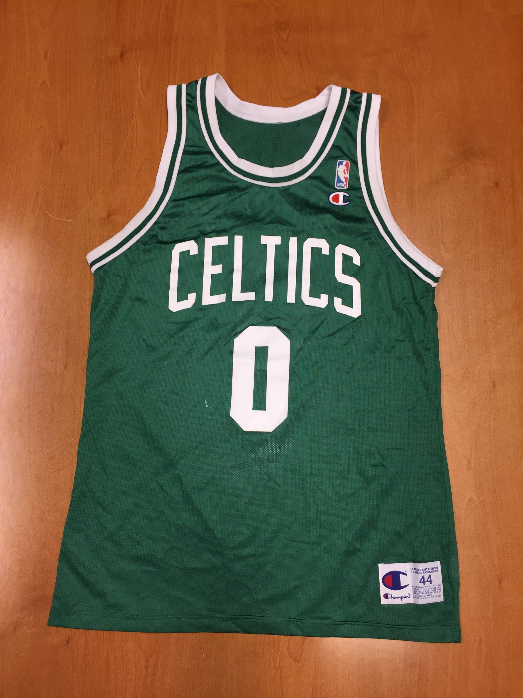 1b4d2c4bf Vintage 1995 - 1996 Eric Montross Boston Celtics Champion Jersey Size 44  antoine walker nba finals dennis johnson kenny anderson billups unc by ...
