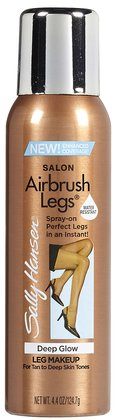 Sally Hansen Airbush Sun Self-Tanner for Legs. Great for when your not using self tanner and just need some glow in a hurry!