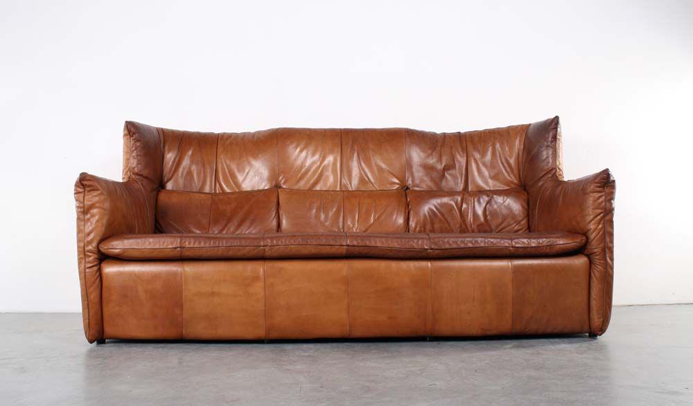 Design Bank Gerard Van De Berg.Montis Vintage Leather Sofa Design Gerard Van Den Berg Sold At