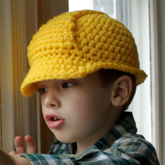 Hard Hat Helmet - Crochet Pattern - Permission to sell finished ...
