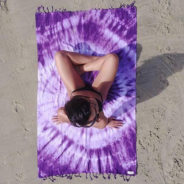 Purple Swirl Towel