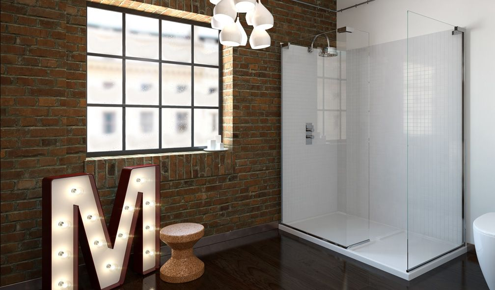 V10131016KW 6 Series Walk-in Shower Enclosure 1400 X 900mm With ...