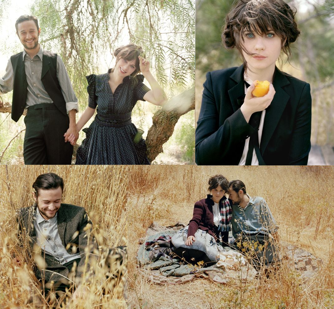 Zooey Deschanel And Joseph Gordon Levitt Joseph gordon  Zooey Deschanel And Joseph Gordon Levitt Tumblr