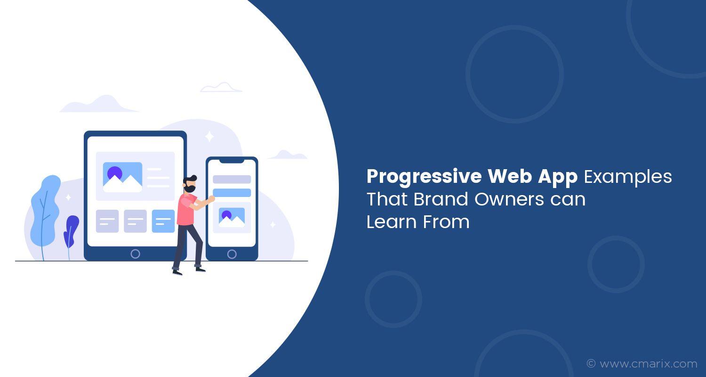 Progressive web apps (PWA) combine the best features of