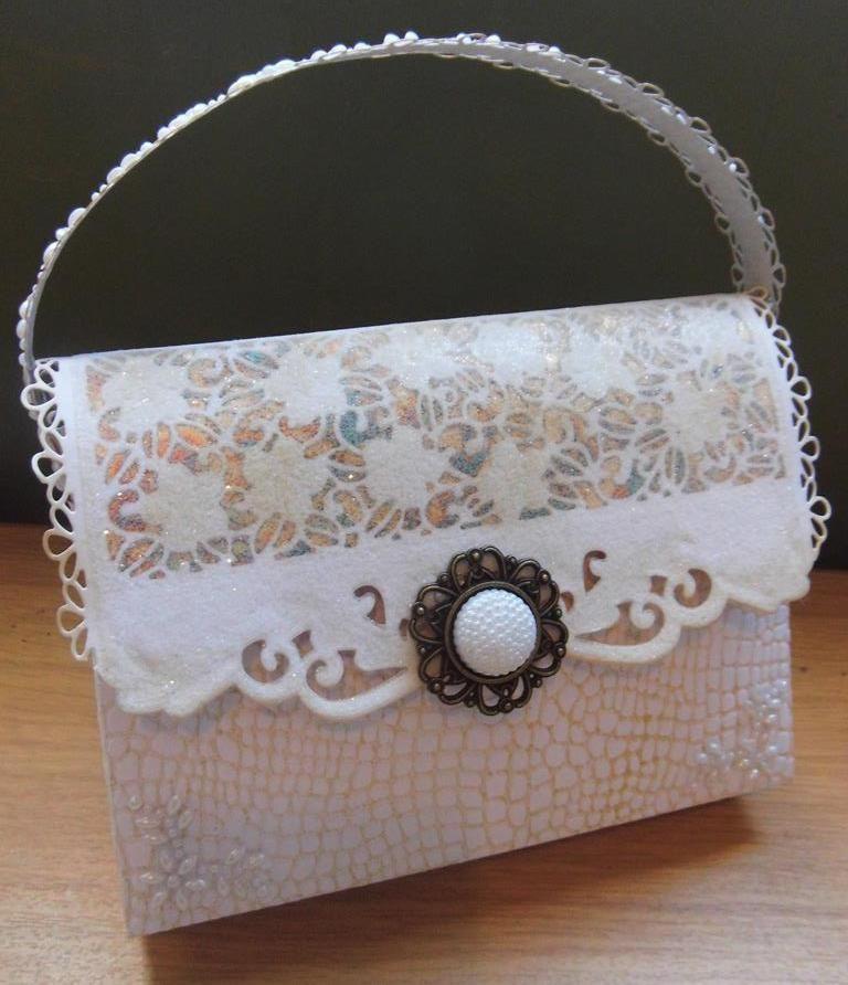 Handbag with Sue's dies