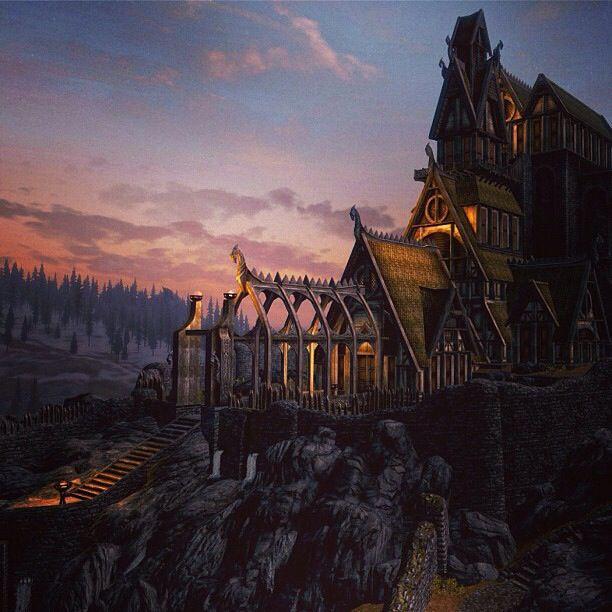 Prettiest Places Skyrim: First I Have To Say That Over All Skyrim Is The Best Game