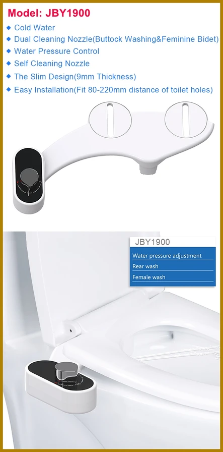 NonElectric Bidet Toilet Attachment Bidet toilet seat