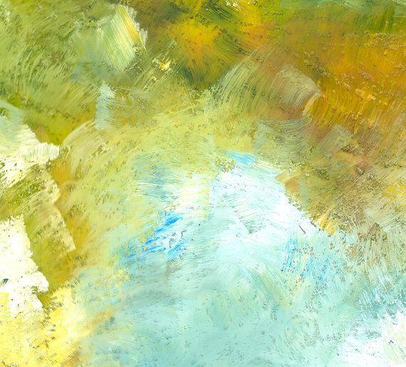 Canvas print Abstract Wall Art Horizontal by NatalyBorichArt ...