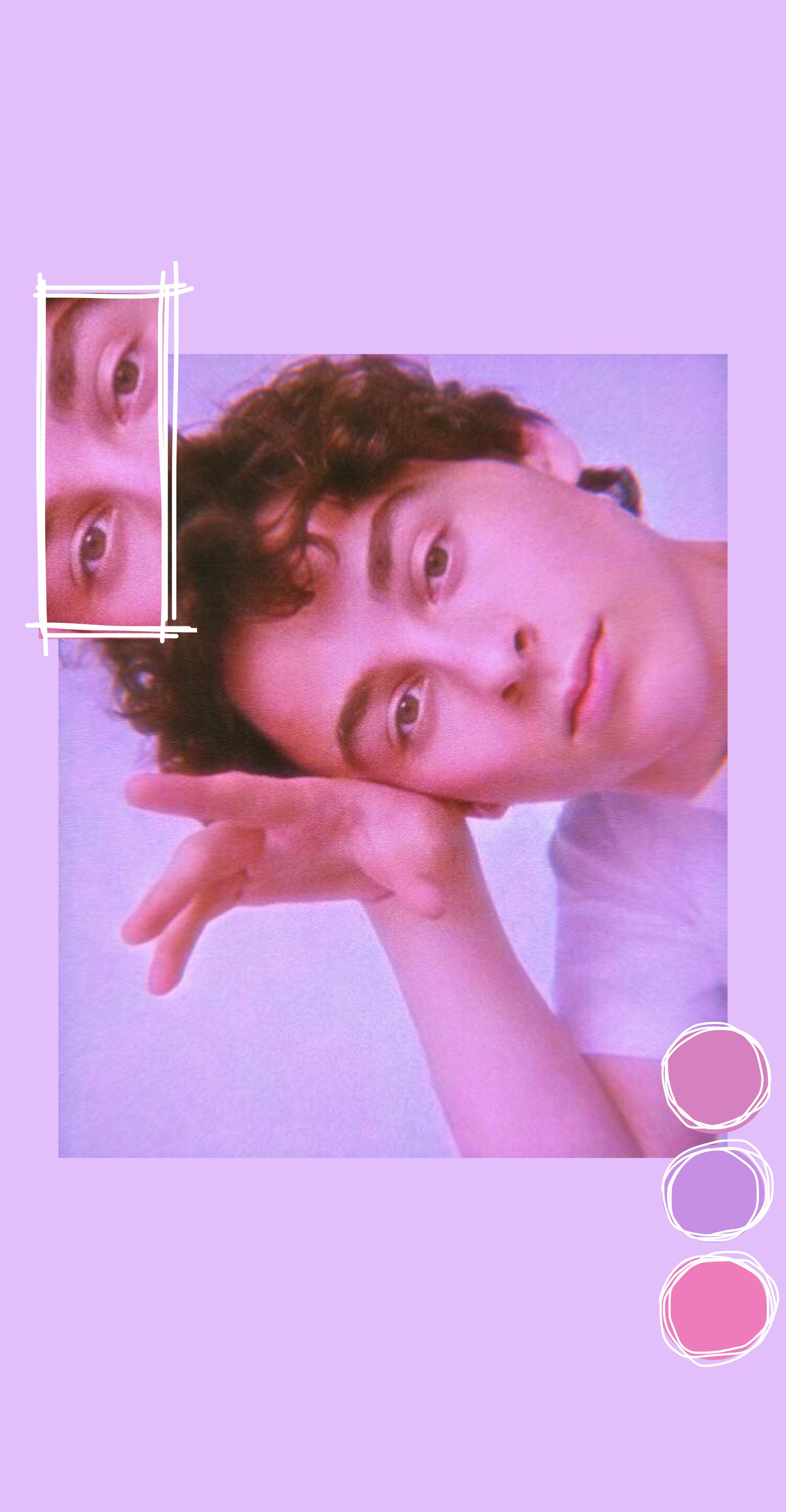 Wyatt Oleff Aesthetic Pink Wallpaper