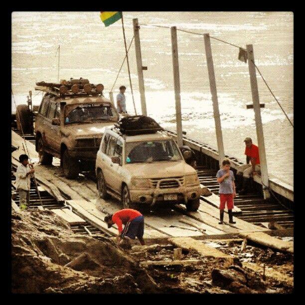 Off road en Beni Bolivia