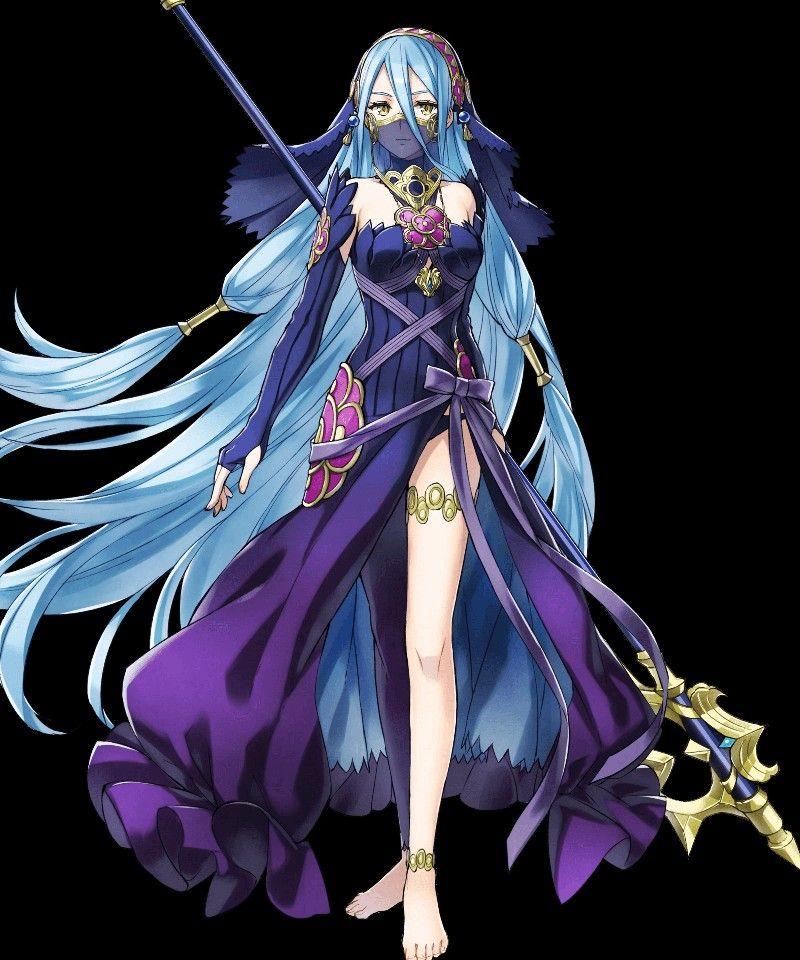 Celebratory Spirit Azura, Battle Art from Fire Emblem