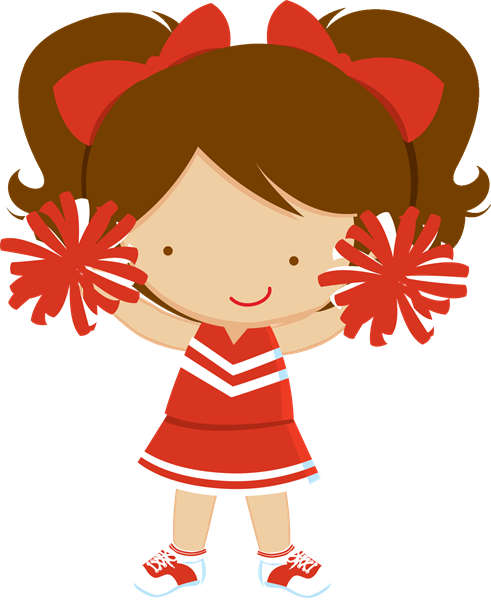 Stuff Cheerleader Art Clip Cartoon