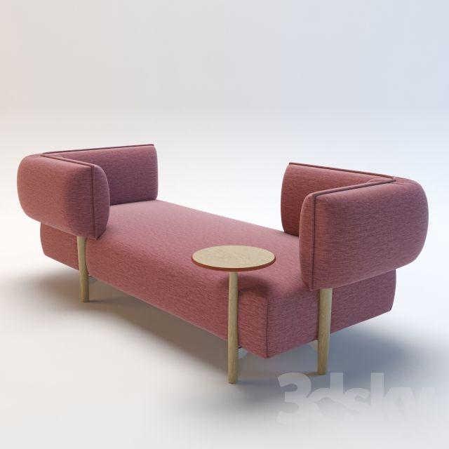 Sofa by Patricia Urquiola (Moroso)