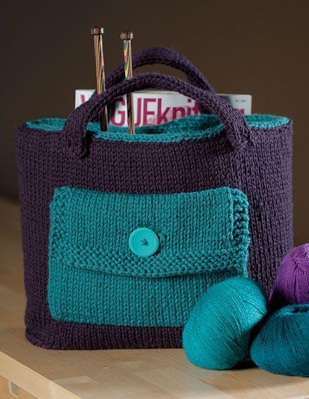 Knitters Tool Bag Pattern Knitting Patterns And Crochet Patterns