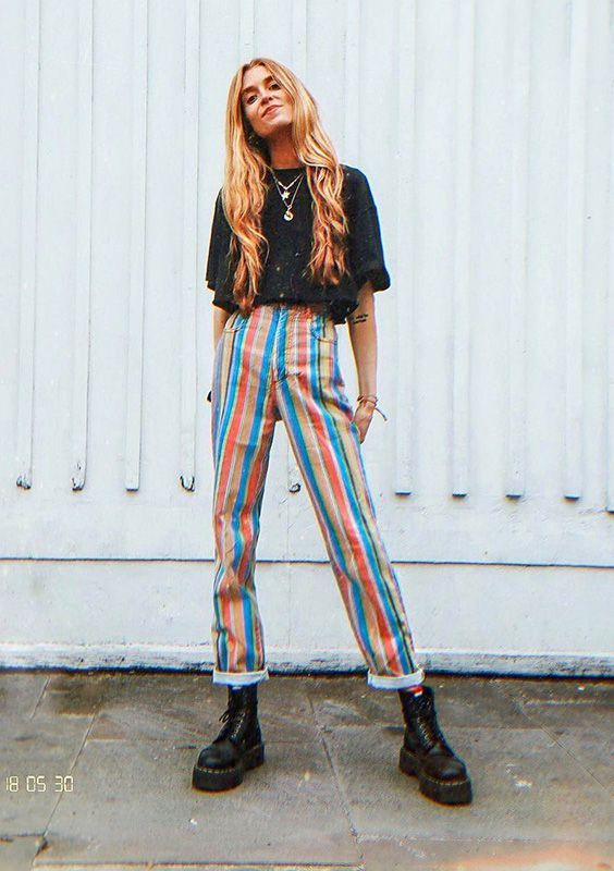 Photo of Inspiration: Colorful pants – lace