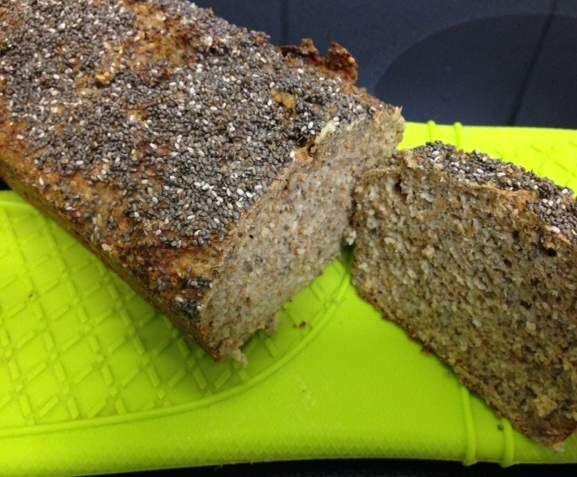 Rezept Variation von Eiweißbrot... tägliches Brot, hält lange frisch! von Meifer - Rezept der Kategorie Brot & Brötchen