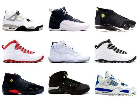 c4542dcf0b5 Jordan Brand Potential 2011 2012 Retro Releases Jordan Brand Potential