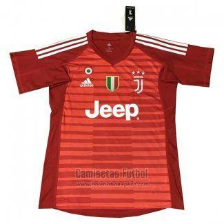 07c6c9336 Tailandia Camiseta Juventus Portero 2018-2019 Rojo