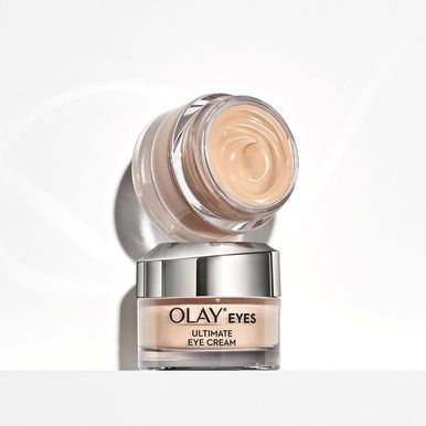 Olay Eyes Ultimate Eye Perfecting Cream fights dark circles, wrinkles and puffy eyes.The powerful formula hydrates to smooth and brighten the eye area. #DarkCirclesCream #darkcircle