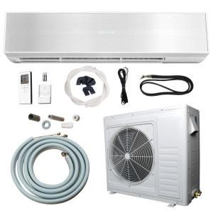 Ramsond 24 000 Btu 2 Ton Ductless Mini Split Air Conditioner And Heat Pump 220v X2f 60hz 74gw2 At Ductless Mini Split Ductless Wall Mounted Air Conditioner