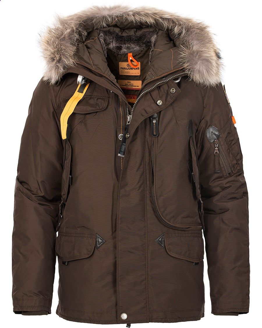 Parajumpers Right Hand Masterpiece Jacket Brown hos CareOfCarl.co