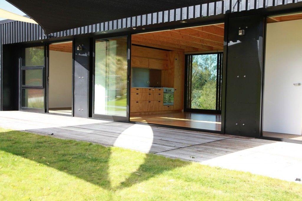 Steel Frame Transportable Prefab Home New Zealand Modern Modular Homes