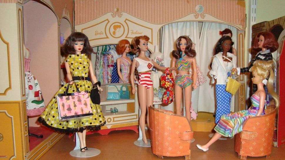 barbie fashion shop