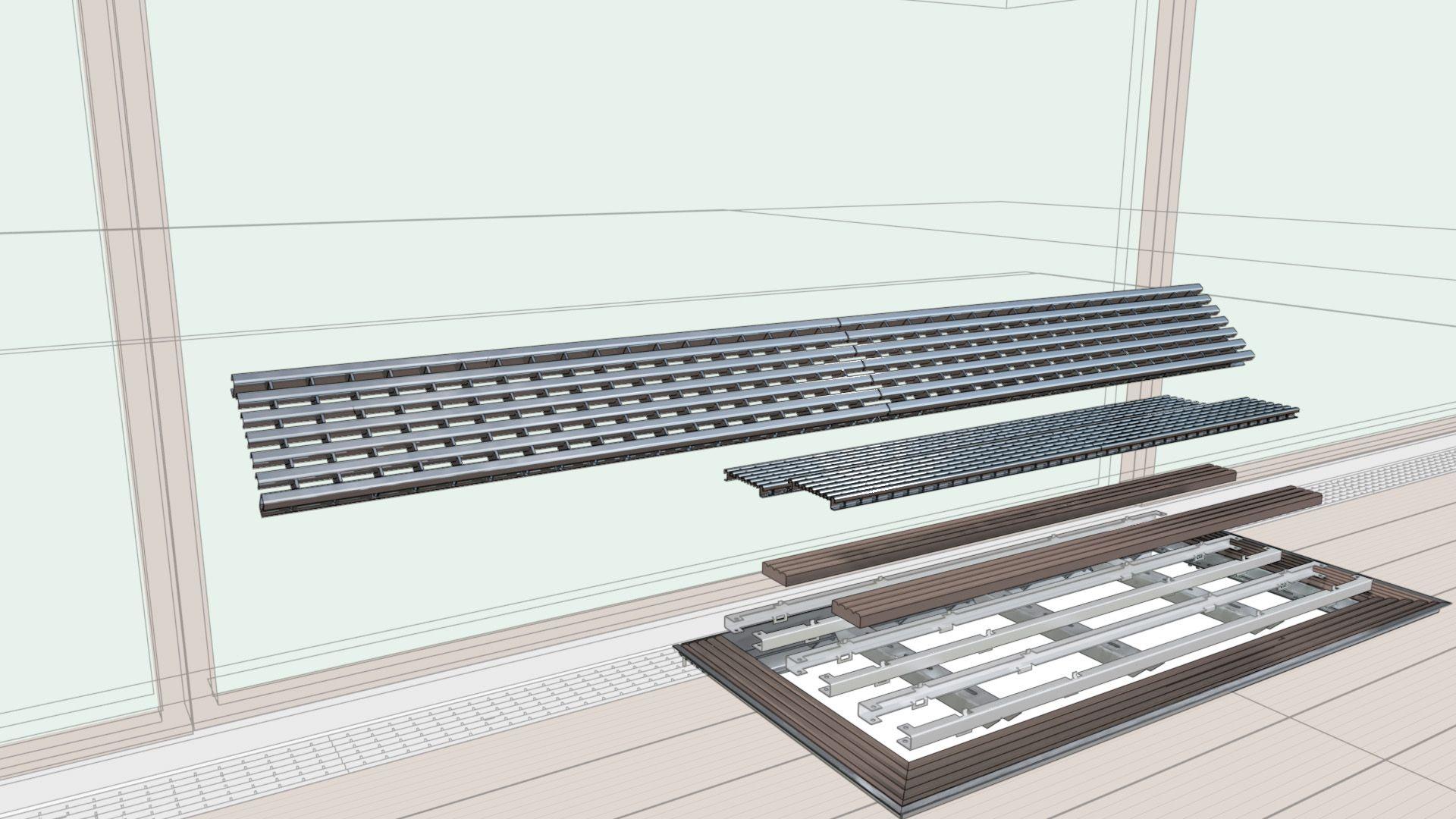 Modulare Kellerschacht Abdeckung Aco Vario Fur Mehr Licht Und Luft In Kellerraumen Kompatibel Mit De Lichtschachtabdeckung Beleuchtung Wohnzimmer Lichtschacht